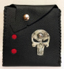 The Punisher Skull Leather Pouch