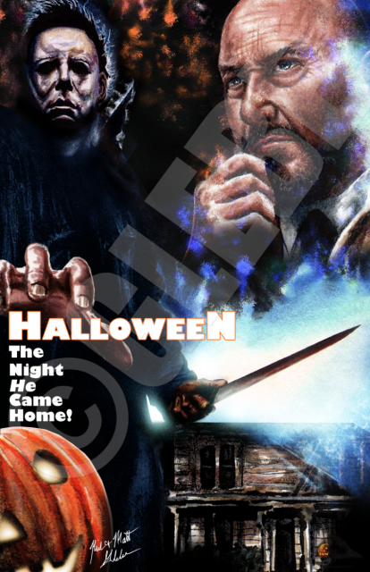 HalloweeN: The Night He Came Home Poster Print