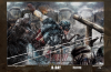 """D-Day"" 75th Ann. Cap Poster Print (LIMITED)"