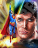 Christopher Reeve Superman 8X10 Canvas Print